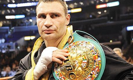 Виталию Кличко присвоен титул почетного чемпиона WBC (1)