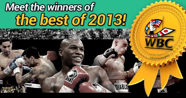 Всемирный боксерский Совет (WBC) назвал лучших из лучших в 2013 году! (1)