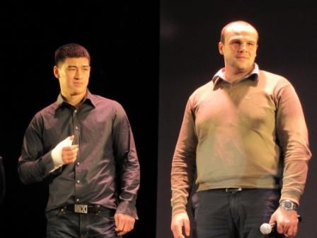 Награждение лучших боксеров и тренеров Санкт-Петербурга за 2013 год (видео) (1)