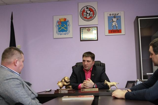 В Подольске открыли областное отделение Федерации профессионального бокса России! (2)