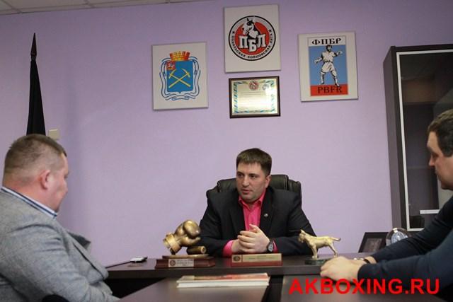 Павел Попов о развитии бокса в Подмосковье (1)