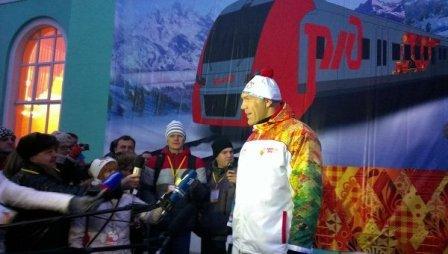 Николай Валуев откроет Олимпиаду в Сочи (1)