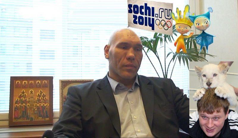 Николай Валуев об Олимпиаде и российском спорте (видео) (1)