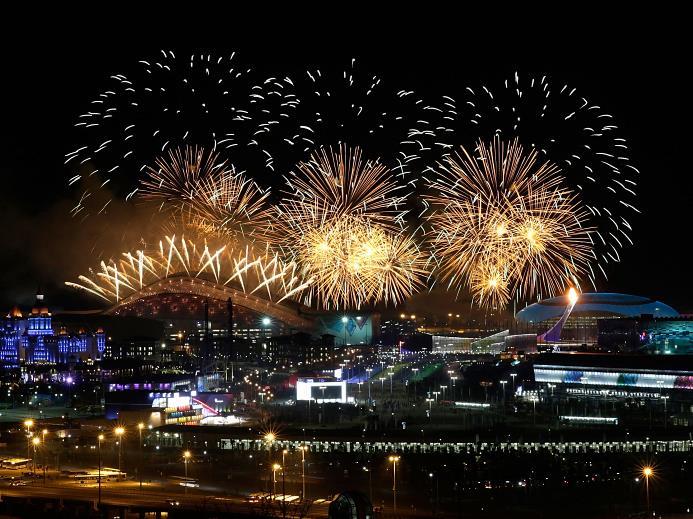 Открытие Олимпийских Игр в Сочи состоялось!  (1)