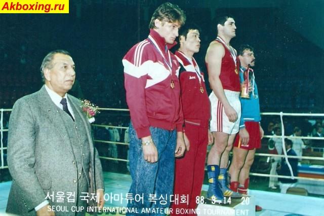 Бокс из СССР: Мастер-класс Усмана Арсалиева, победителя Феликса Савона (2)