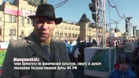 Николай Валуев открыл турнир по хоккею с мячом (видео) (1)