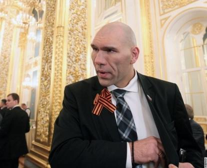 Николай Валуев и Виталий Кличко на политическом ринге (1)
