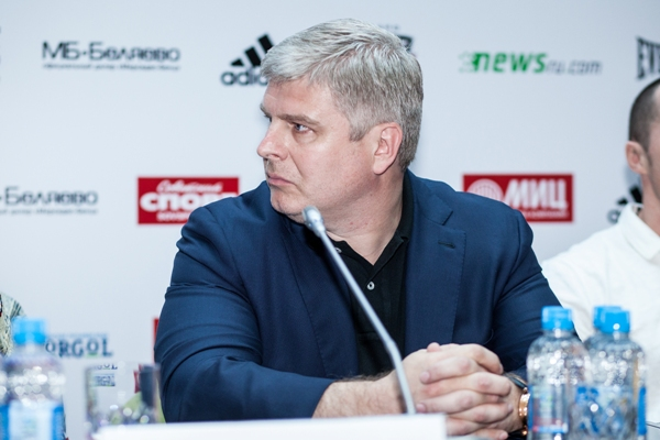 Заявление Андрея Рябинского о причинах отмена боя Лебедев - Джонс (1)