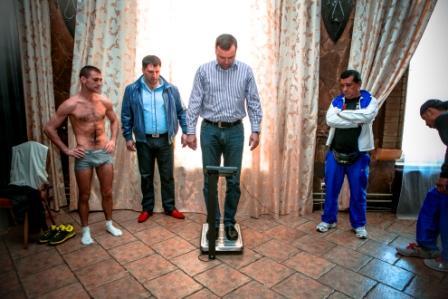 Боксерское шоу в Подольске. Церемония взвешивания (8)