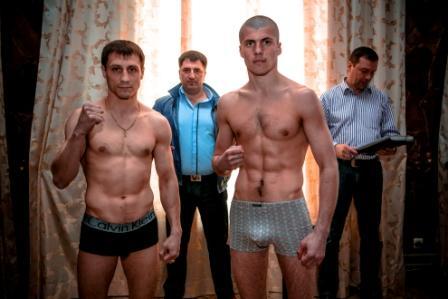 Боксерское шоу в Подольске. Церемония взвешивания (3)