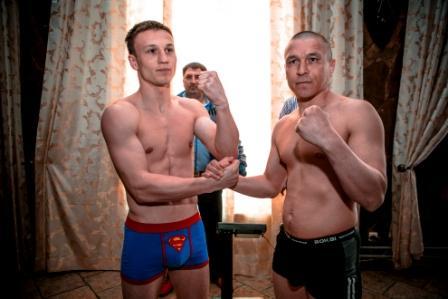 Боксерское шоу в Подольске. Церемония взвешивания (5)