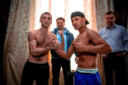 Боксерское шоу в Подольске. Церемония взвешивания (2)