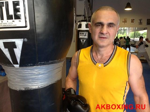 Бокс из СССР: Уроки бокса от Усмана Арсалиева (1)