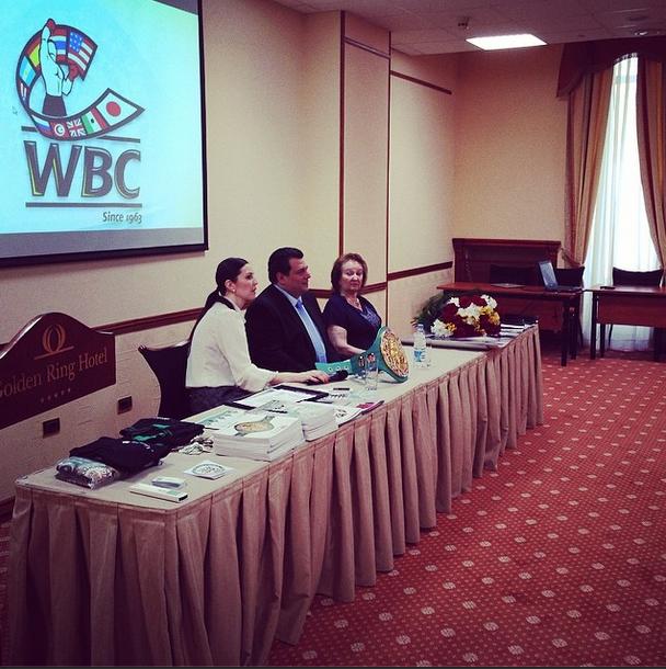 Президент WBC, Маурисио Сулейман: Россия и WBC - одна большая семья! (1)