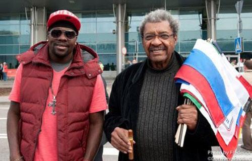 Дон Кинг и Гильермо Джонс прилетели в Москву (1)