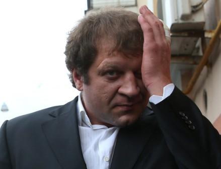 Александр Емельяненко: Я думаю это все дело рук завистников (1)