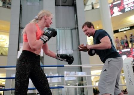 Открытая тренировка Дмитрия Чудинова (3)
