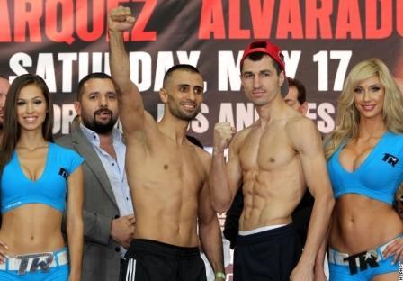 Маркес, Альварадо, Постол и Айдын сделали вес (2)