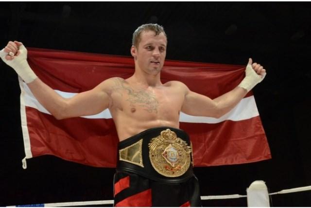 Один из лучших боксёров Латвии: Майрис Бриедис (1)
