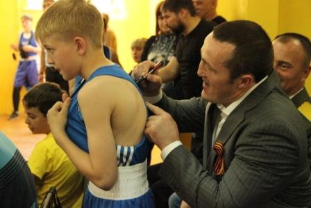 Первый открытый турнир по боксу на призы чемпиона Мира Дениса Лебедева. (5)