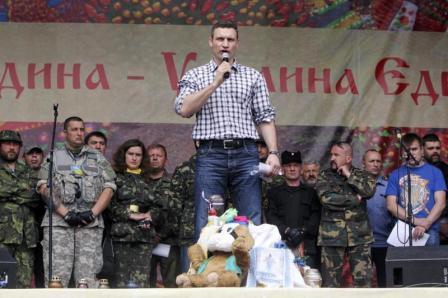"""Братья Кличко экипируют батальон """"Киев"""", воюющий в Луганской области (1)"""