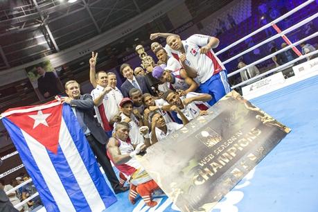 WSB: Сборная Кубы стала чемпионом сезона 2013/14 (1)