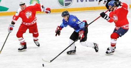 Подольская Бойцовская Лига в гостях у «Легенд хоккея» (1)