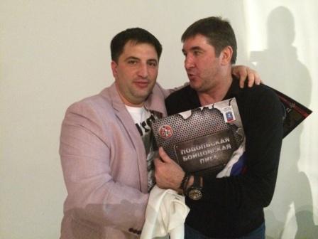 Подольская Бойцовская Лига в гостях у «Легенд хоккея» (2)