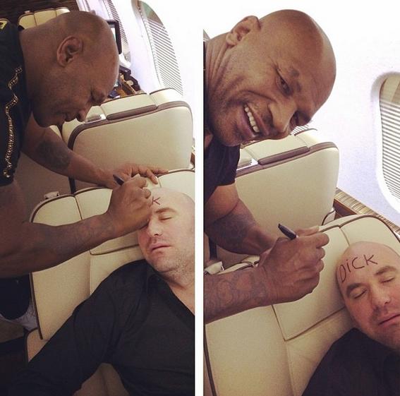 """Майк Тайсон """"попросил"""" Дана Уайта, президента UFC, освободить кресло (1)"""