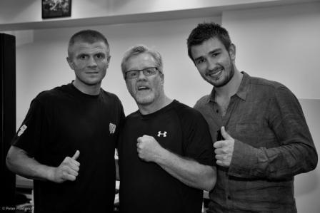 Двукратный обладатель кубка Стенли приехал поддержать Антона Новикова (1)