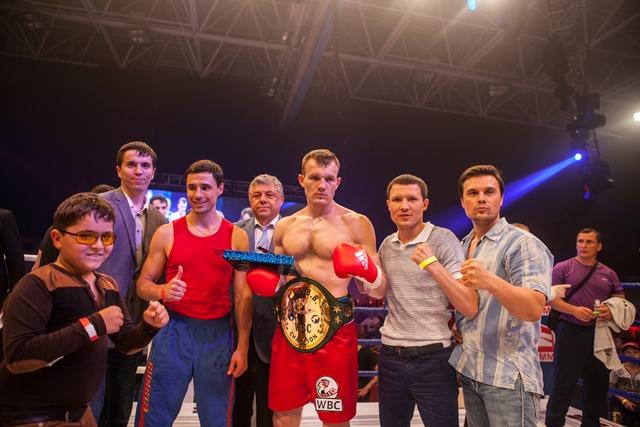 Подробности боксерских поединков в Краснодаре (3)
