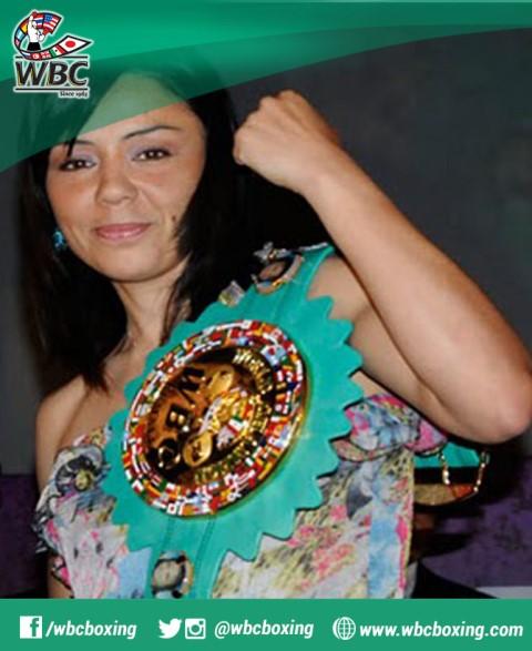 Джеки Нава - первая чемпионка Мира WBC (1)