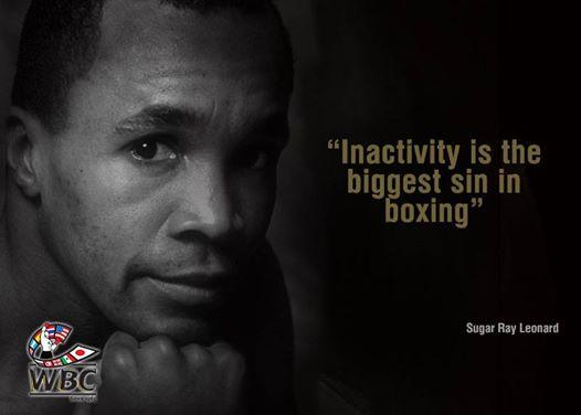 Цитата бокса недели: Шугар Рэй Леонард (1)