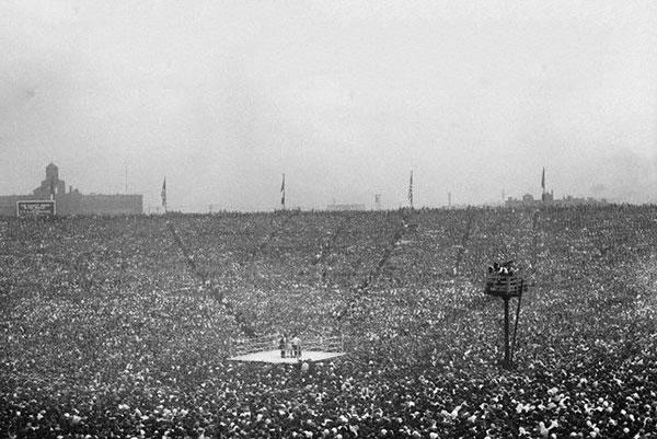Первый бой в мире, собравший миллион долларов с продажи билетов! (2)