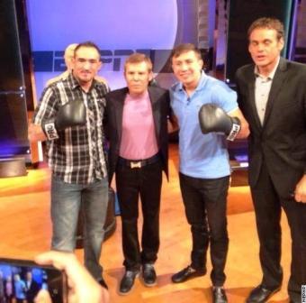 Геннадий Головкин и Марко Антонио Рубио встретились лицом к лицу (3)