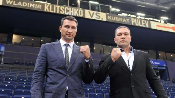 Бой Владимира Кличко и Кубрата Пулева отменен (1)