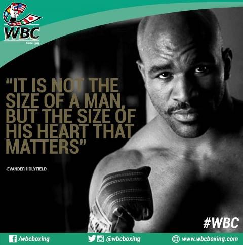 Цитата бокса от Эвандера Холифилда (1)