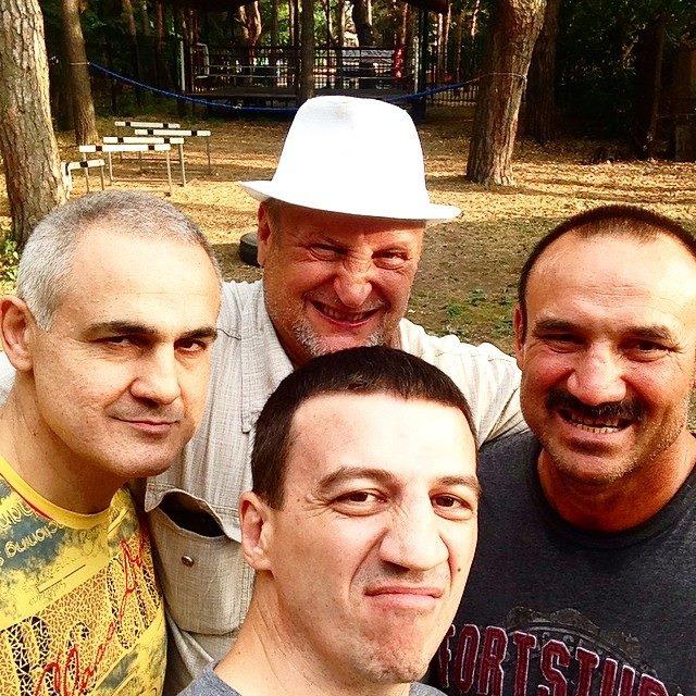 Фото дня: Арсалиев, Качановский, Себиев и Колесников (1)