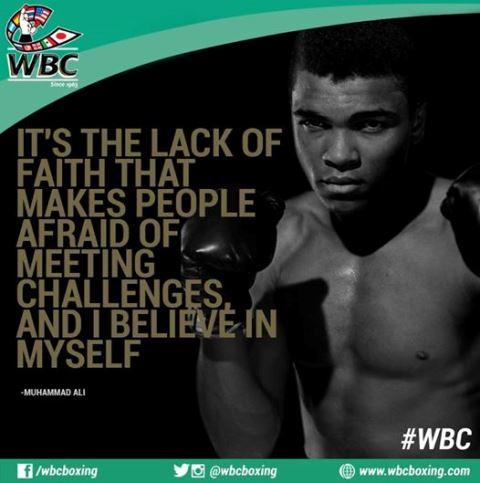 Цитата бокса от великого Мохаммеда Али (1)
