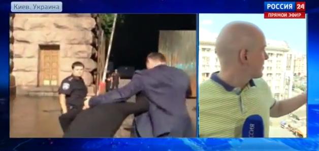 Виталий Кличко предложил обитателю Майдана сойтись в кулачном бою (1)
