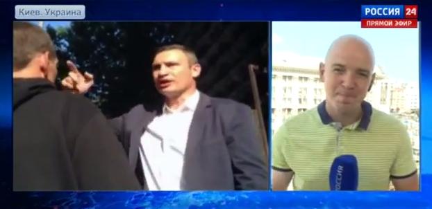 Виталий Кличко предложил обитателю Майдана сойтись в кулачном бою (2)