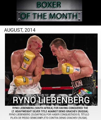 Либенберг, победитель Дениса Грачева, признан WBC боксером месяца (1)