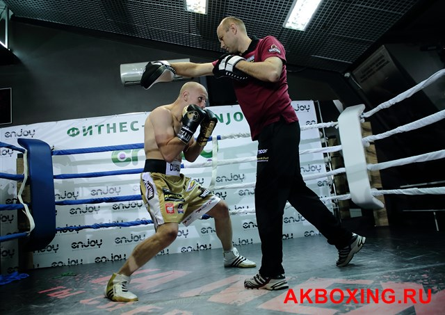 Открытая тренировка: Влодарчик - Дрозд, Лебедев - Колодзей (6)