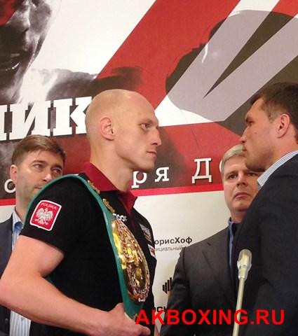 Лицом к лицу: Колодзей - Лебедев, Влодарчик - Дрозд (3)