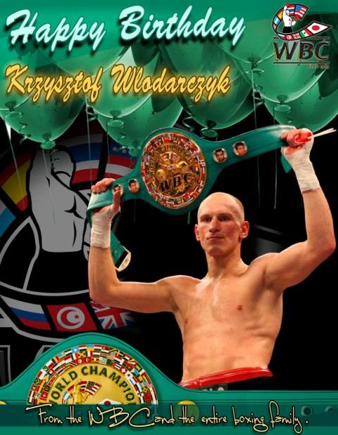 Влодарчику исполнилось 33 и он снова станет чемпионом WBC (1)