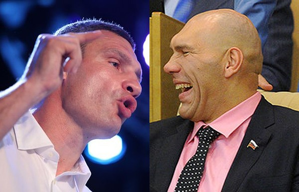 Валуев победил Кличко в телеэфире (1)