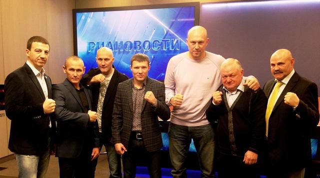 Российские боксеры пообщались в РИА НОВОСТИ (1)