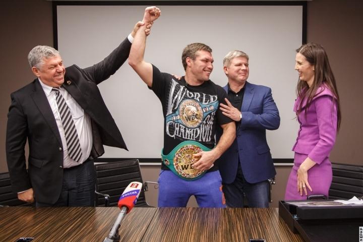 Григорий Дрозд получил пояс чемпиона Мира WBC (1)
