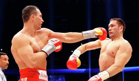 Владимир Кличко нокаутировал Кубрата Пулева в пятом раунде (1)