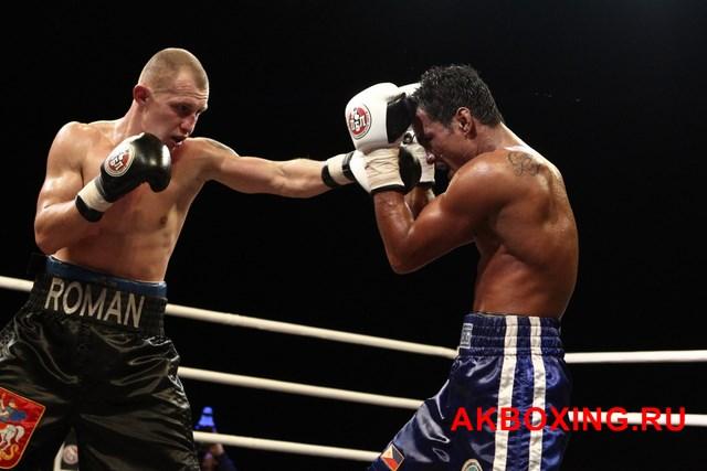 Бой Романа Андреева и Рэя Лабао (1)